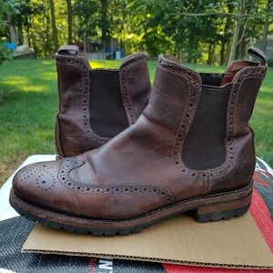 Mens Frye Leather Boots size 10.5